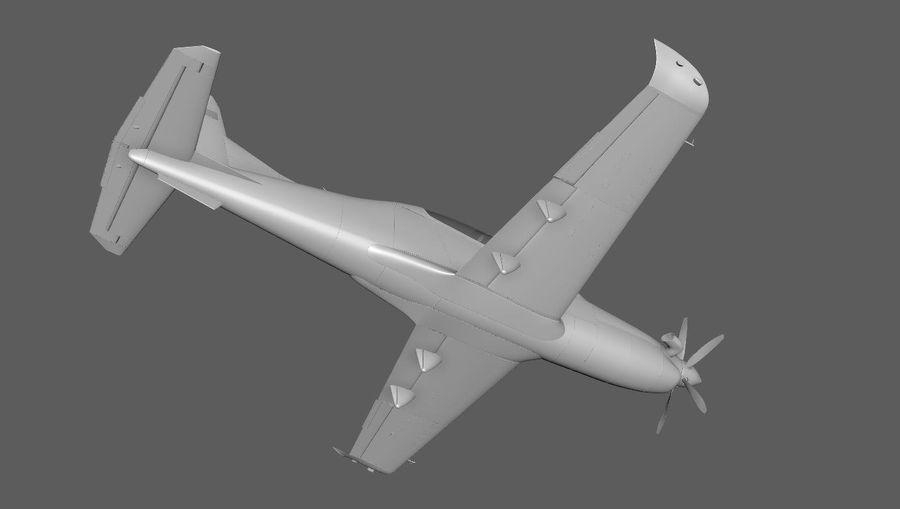 Hurkus 3D Plane/Aircraft Model royalty-free 3d model - Preview no. 3