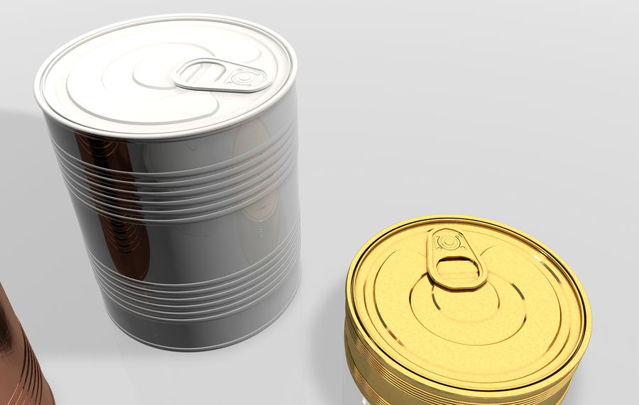 Gıda kapları royalty-free 3d model - Preview no. 3