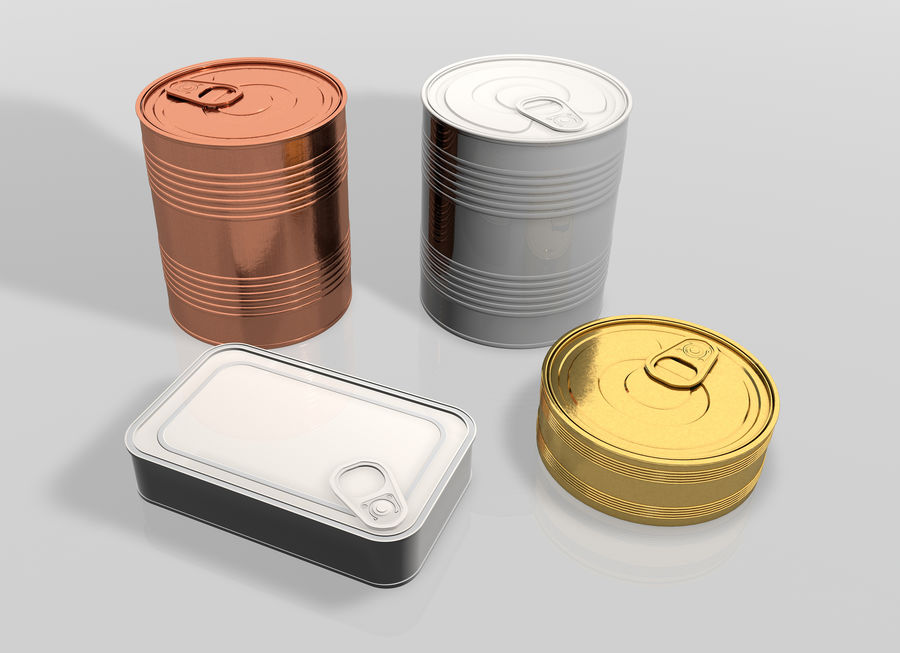 Gıda kapları royalty-free 3d model - Preview no. 2