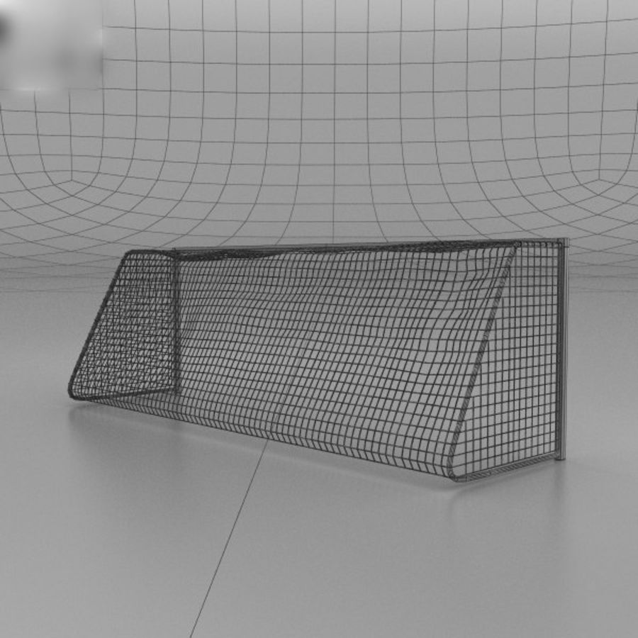 Soccer Goal royalty-free 3d model - Preview no. 4