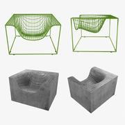 Сетка и железобетонная вещь от nola 3d model