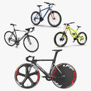 Modern Bikes Collection 2 3d model