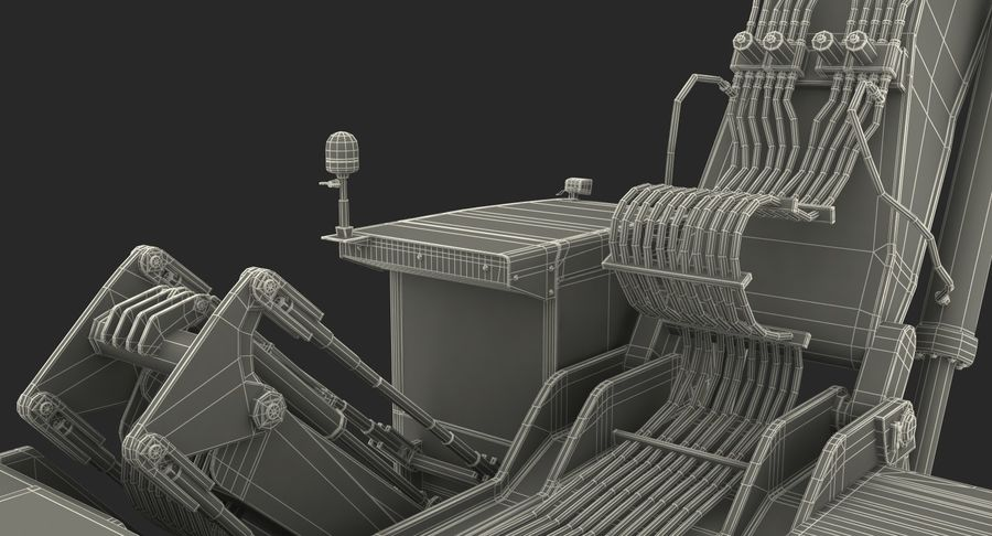 Wheeled Excavator Generic royalty-free 3d model - Preview no. 26