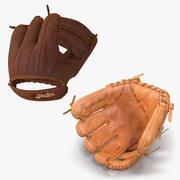 Kolekcja modeli 3D rękawic baseballowych 3d model