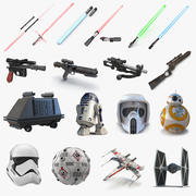 Star Wars 3D Models Collection 2 3d model