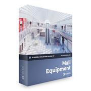 Mallutrustning 3D-modellkollektion - Volym 107 Mental Ray 3d model