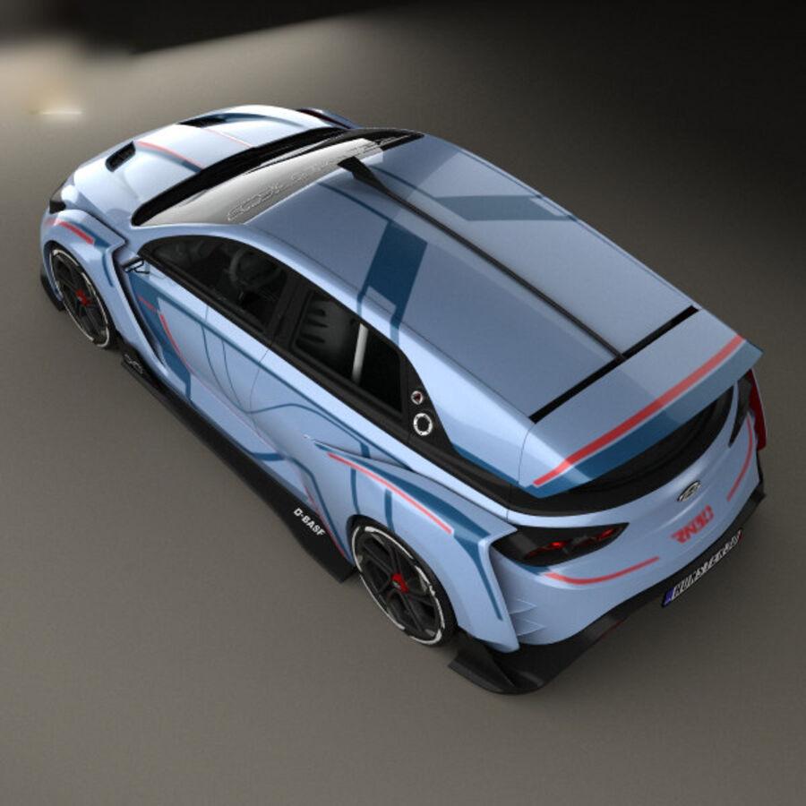 现代RN30 2016 royalty-free 3d model - Preview no. 9