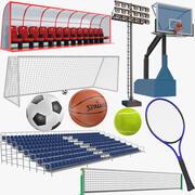 体育收藏 3d model