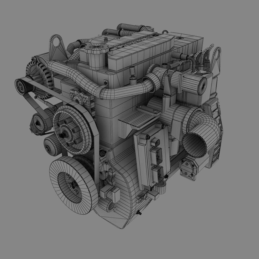 汽车零件系列 royalty-free 3d model - Preview no. 7