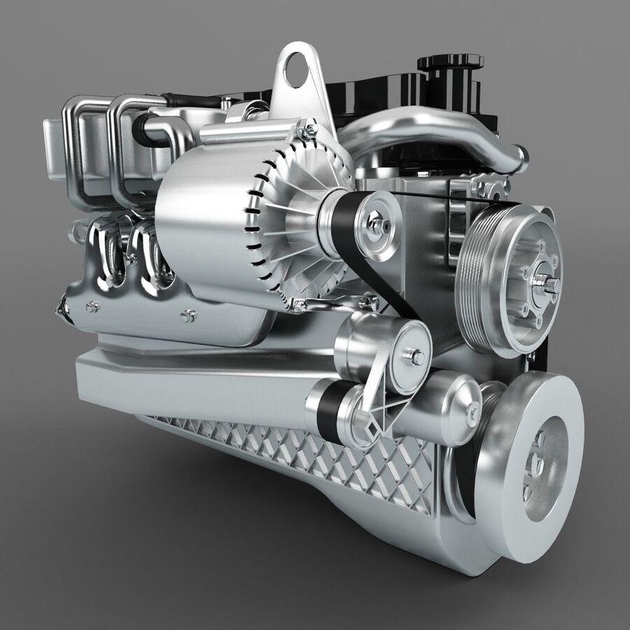 汽车零件系列 royalty-free 3d model - Preview no. 4