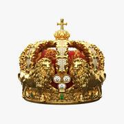 Królewska korona 3d model