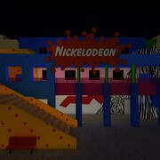 Nickelodeon Studios C4D 3d model