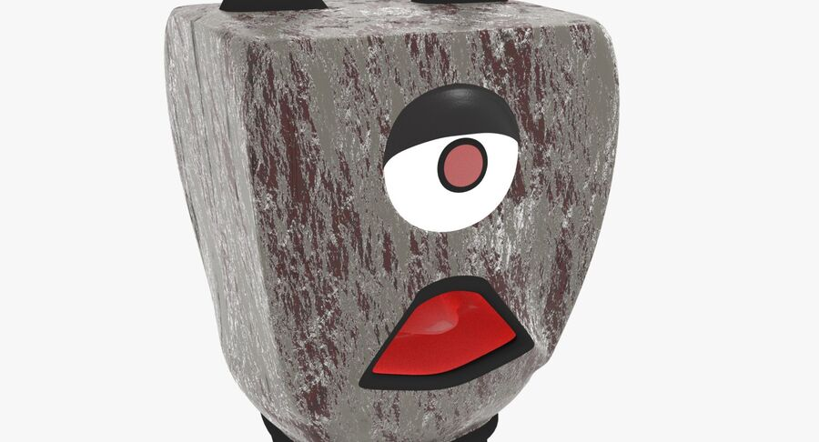 Robot Monster royalty-free 3d model - Preview no. 10