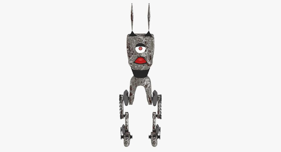 Robot Monster royalty-free 3d model - Preview no. 2