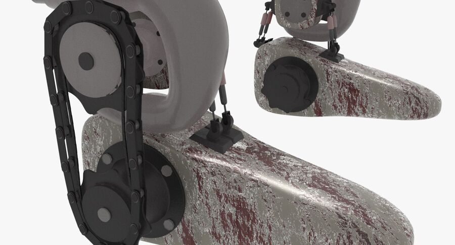 Robot Monster royalty-free 3d model - Preview no. 9