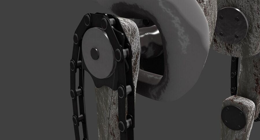 机器人怪兽 royalty-free 3d model - Preview no. 3