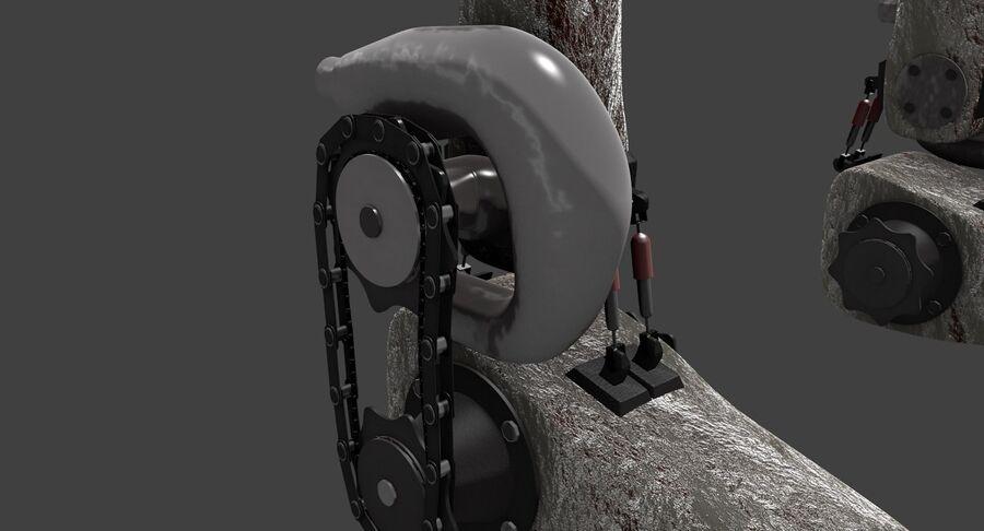 机器人怪兽 royalty-free 3d model - Preview no. 4