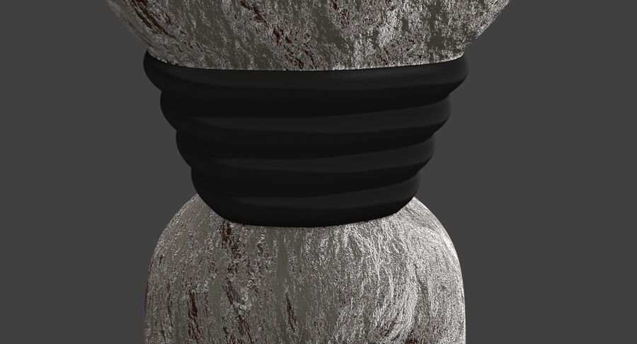 Robot Monster royalty-free 3d model - Preview no. 7