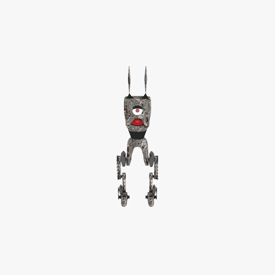 Robot Monster royalty-free 3d model - Preview no. 1