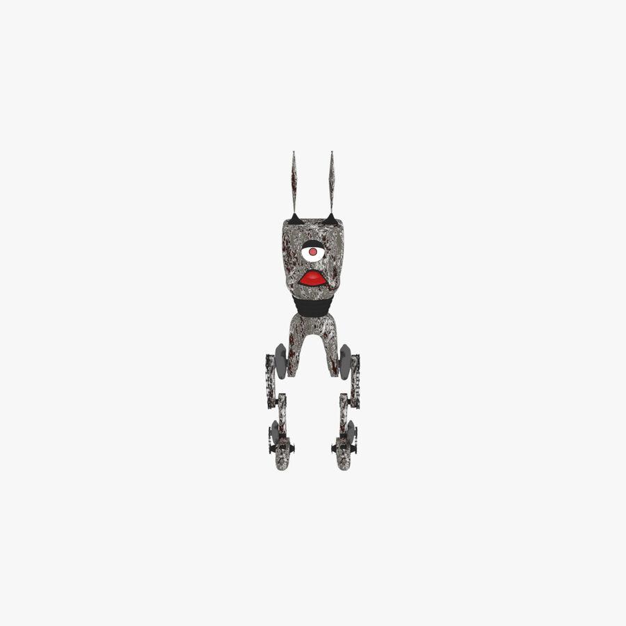 机器人怪兽 royalty-free 3d model - Preview no. 1
