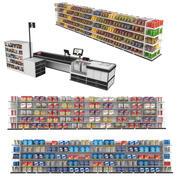 Supermercado Coleção 2 3d model