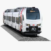 Stadler FLIRT 3 DB RegioSüwex 3d model