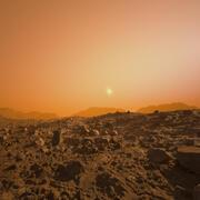 Mars Surface 3d model