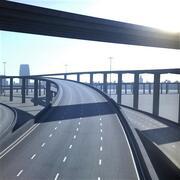 高速公路09 3d model