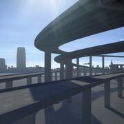 高速公路04 3d model