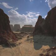 Пустыня Пустыня 3d model