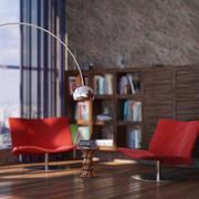 Interior loft 3d model