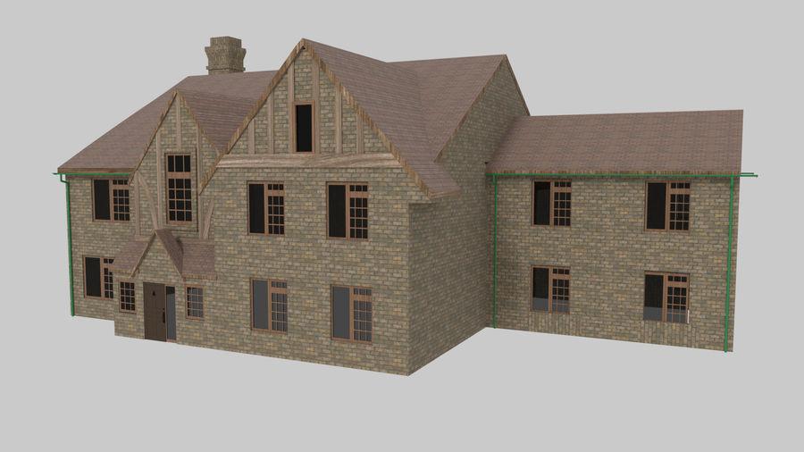 House Mansion 3d Model 5 Blend Free3d