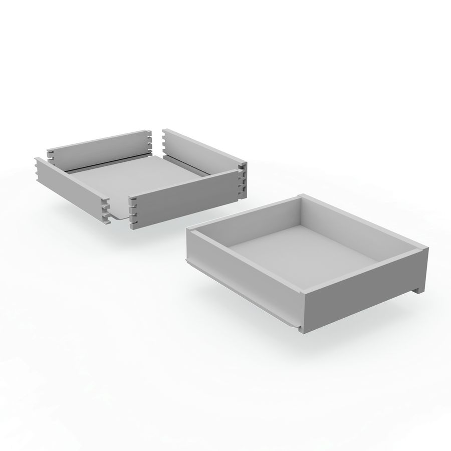 Drawer royalty-free 3d model - Preview no. 6