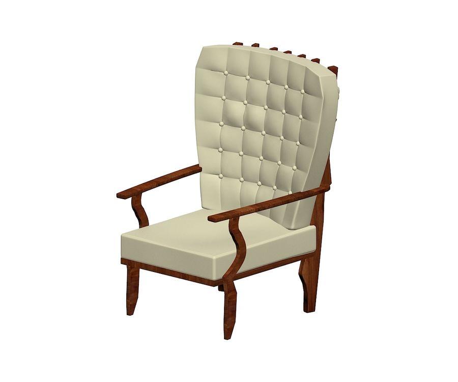 의자 royalty-free 3d model - Preview no. 3