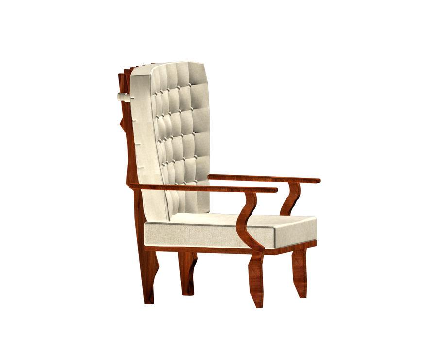 의자 royalty-free 3d model - Preview no. 5