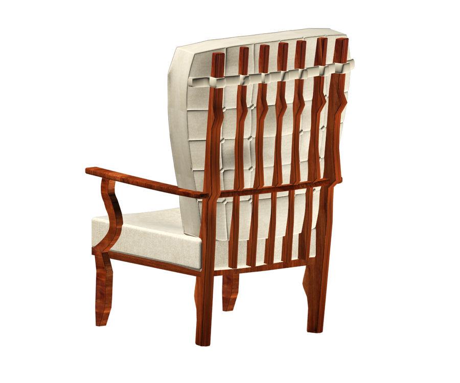 의자 royalty-free 3d model - Preview no. 4