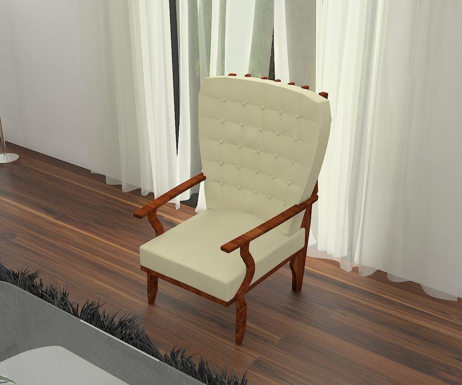의자 royalty-free 3d model - Preview no. 1