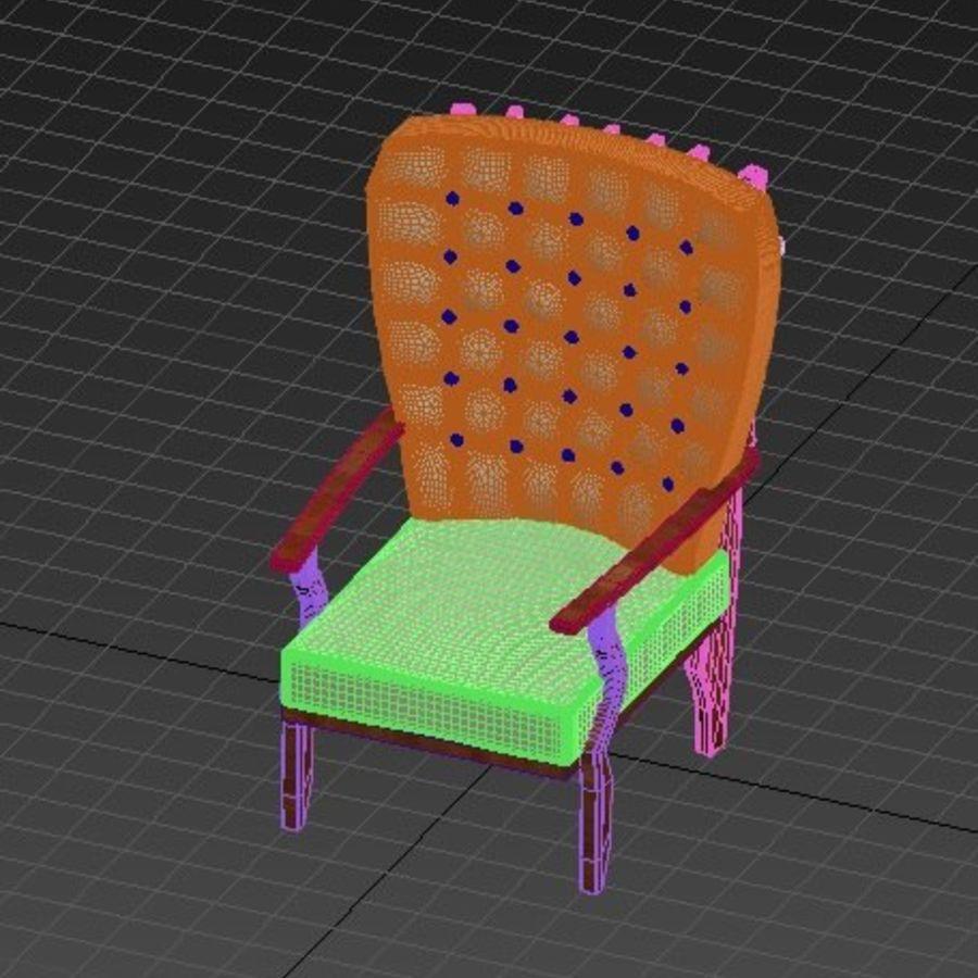 의자 royalty-free 3d model - Preview no. 2