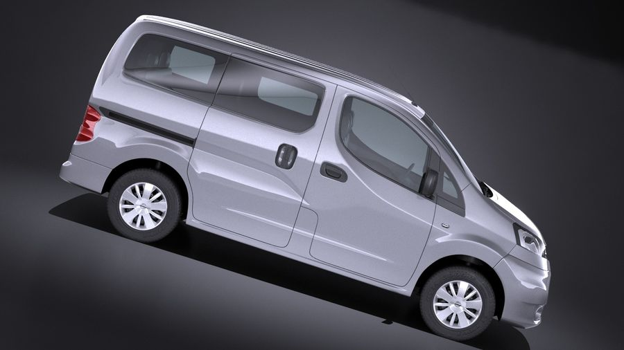 Nissan NV200 2010-2018 royalty-free 3d model - Preview no. 7
