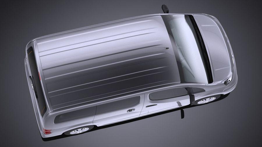 日产NV200 2010-2018 royalty-free 3d model - Preview no. 8