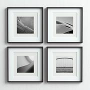 Conjunto de marcos de cuadros -53 modelo 3d
