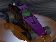 Hot Wheels ENFORCER 3D Model 3d model
