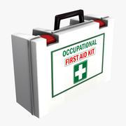 Kit de primeros auxilios modelo 3d