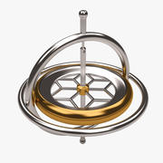 Gyroscope toy 3d model