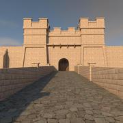 Замок 3d model