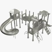 Bahçesi Mesh 3d model