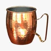Copper Mug 3d model