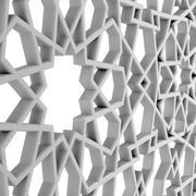 Arabic Decorative Pattern 03 3d model