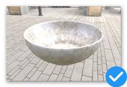 skål 3d model
