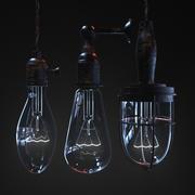 lâmpadas vintage 3d model
